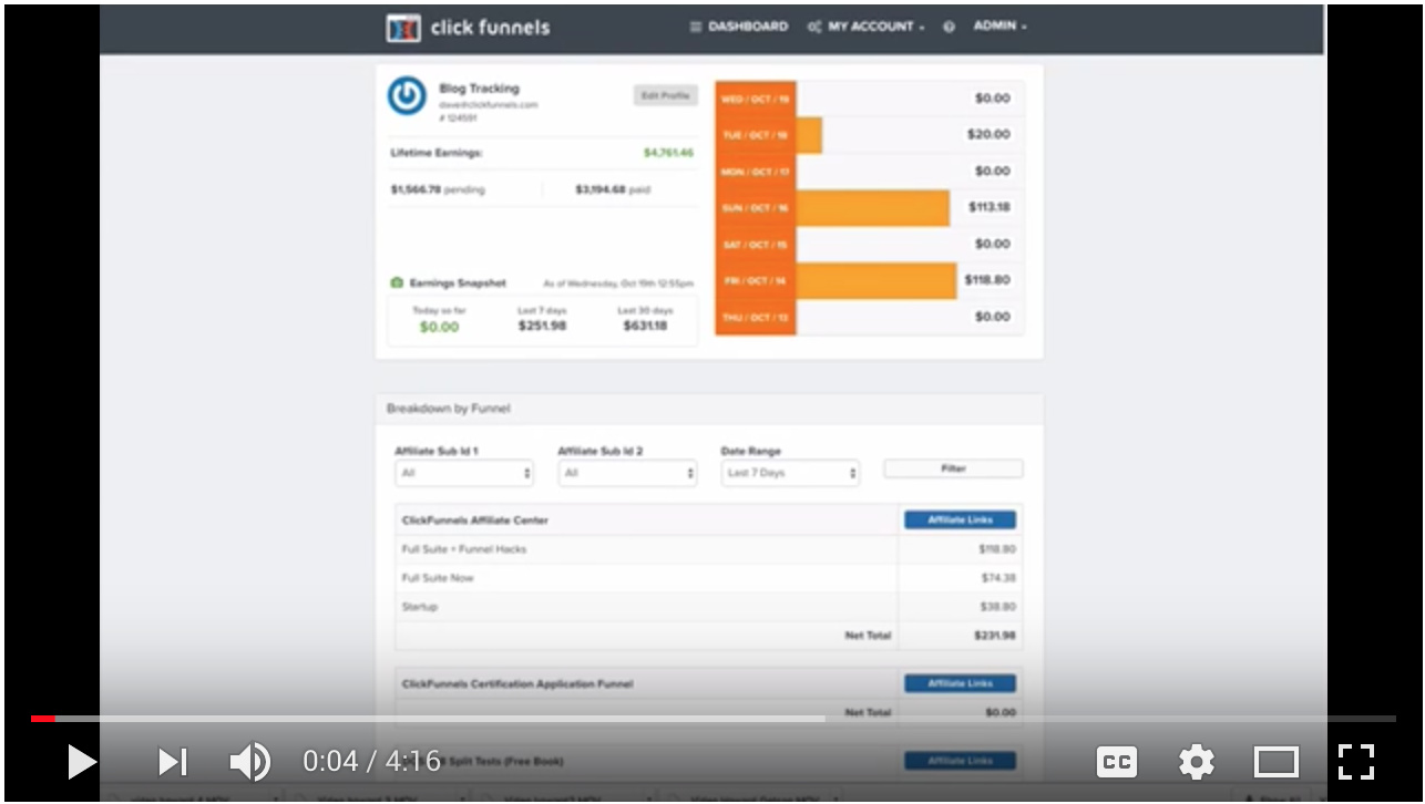 Video - Track Your Affiliate Sales