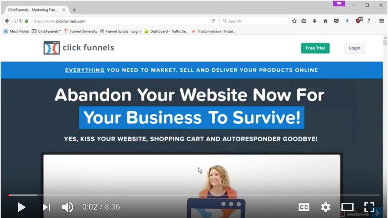 Video - Day 65 - Step 2 of 2 - Pre-selling The Bump