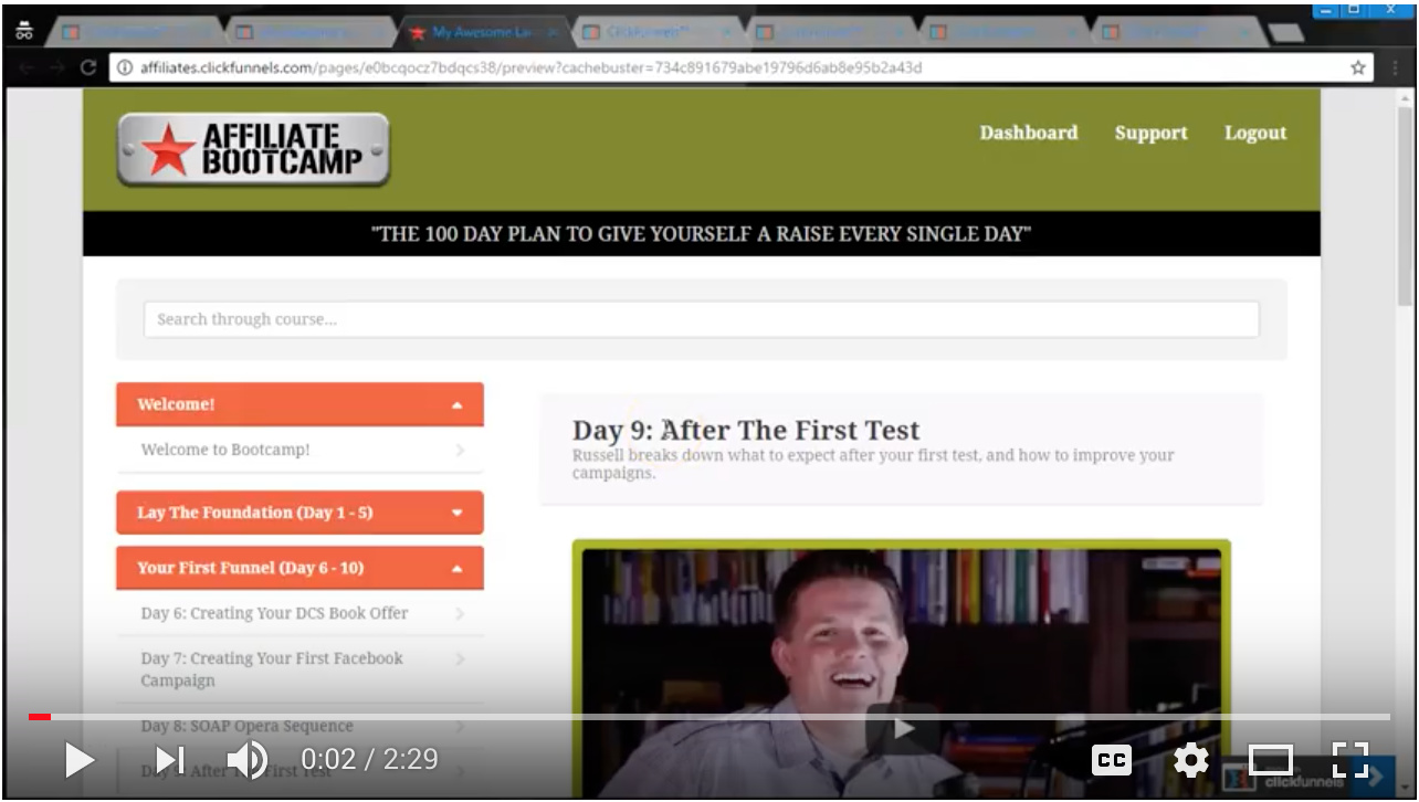 Video - Day 9 - Step 4 of 4 - Walk-through How to Download:Get Access to the Worksheet