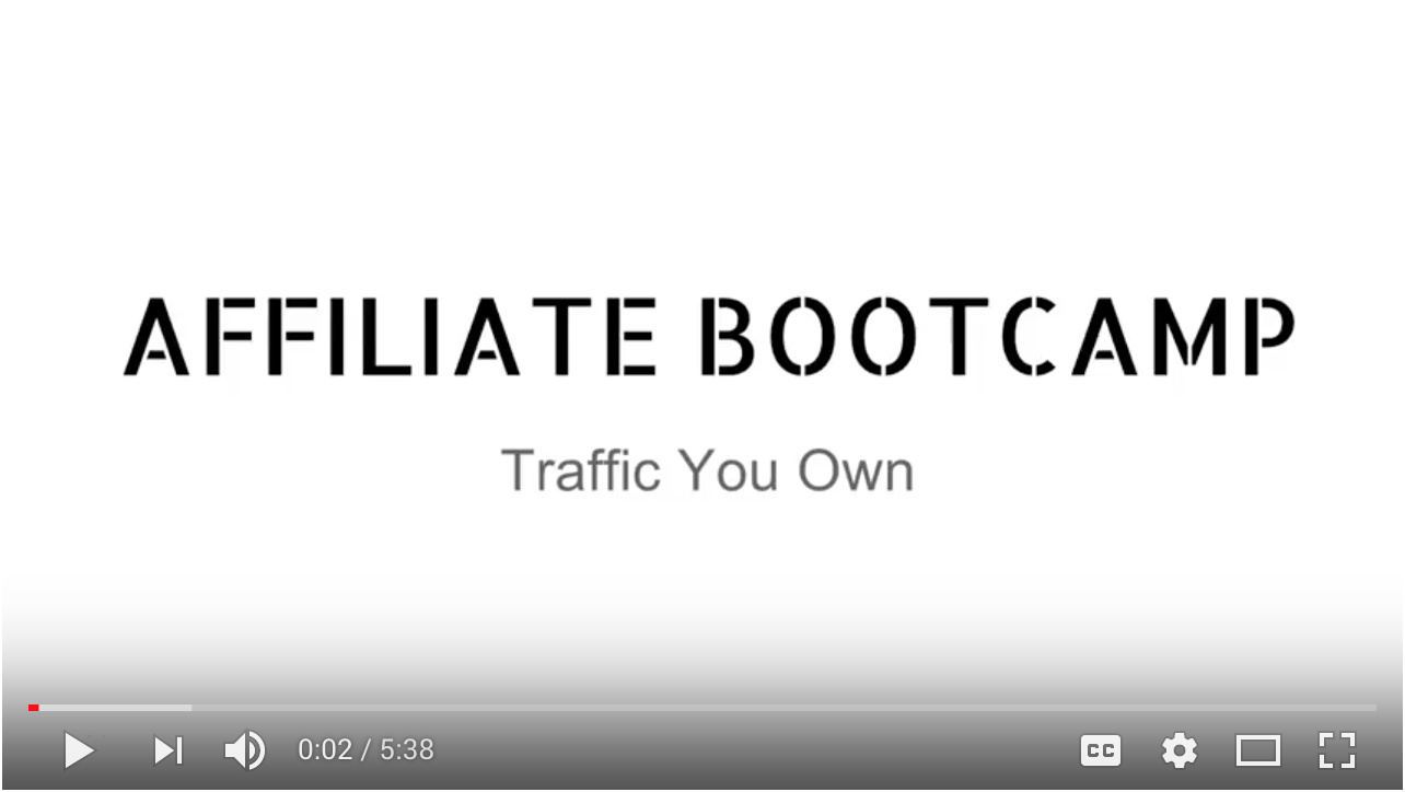 Video - Day 16 - Step 1 of 5 - Traffic You Own