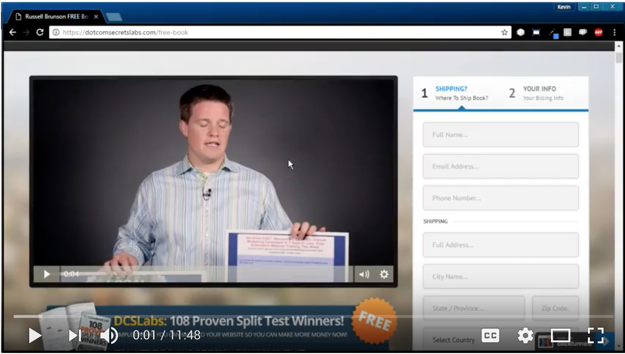 Video - Day 41 - Message to Market Match 108 Split Tests