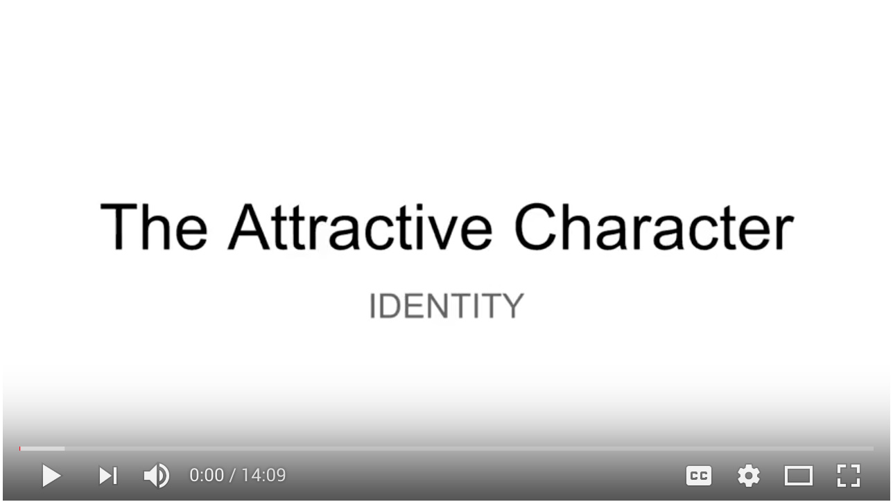Video - Day 2 - Step 4 of 5 Walk-through Attractive Character Identities