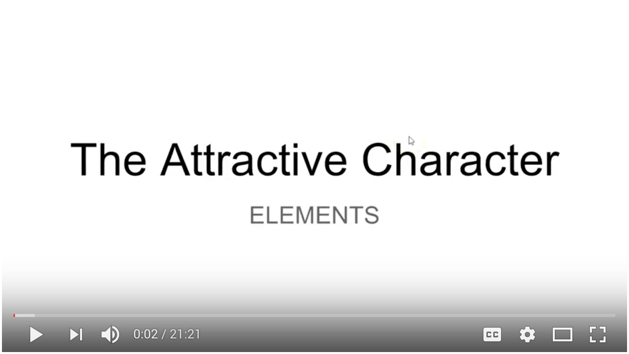 Video - Day 2 - Step 3 of 5 Walk-through Attractive Character Elements