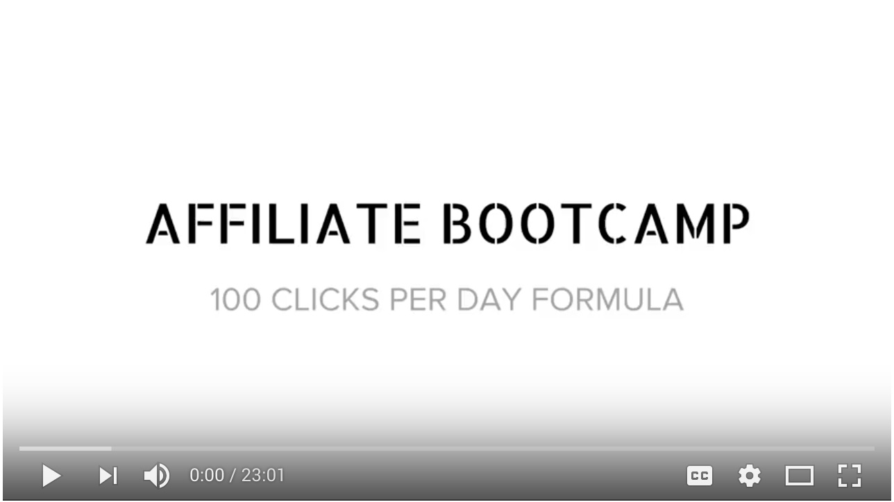 Video - Day 1 - Step 4 of 4 100 Click Formula For ClickFunnels™ Affiliates